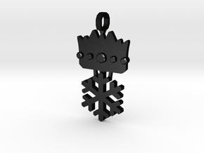 [The 100] Ice Princess in Matte Black Steel