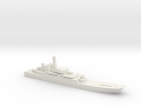 Ropucha I-class landing ship, 1/1800 in White Natural Versatile Plastic