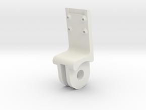 Raspberry pi camera mount (Stalk) in White Natural Versatile Plastic