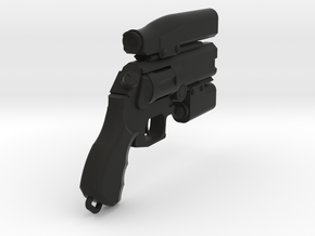 Miles Quaritch Wasp Revolver (Small Scale) in Black Strong & Flexible