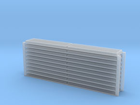 GP40-2 Radiator Grille - N Scale in Smoothest Fine Detail Plastic