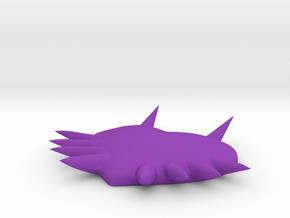 Majora's Mask in Purple Processed Versatile Plastic