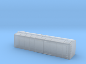 1/450 US 40ft Wagontop Boxcar body shell in Frosted Ultra Detail