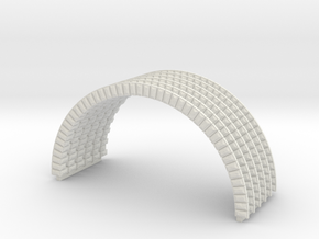 HOvm10 - HO Modular viaduct 1 in White Natural Versatile Plastic