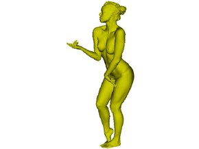 1/15 scale nude beach girl posing figure D in Smooth Fine Detail Plastic