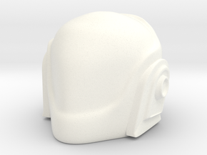 Daft Punk Helmet 2 in White Strong & Flexible Polished