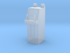 MOF Stand-up Flight Simulator - 72:1 Scale in Smooth Fine Detail Plastic