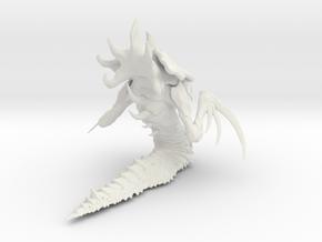 1/24 Zerg Hydralisk  in White Natural Versatile Plastic