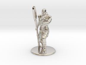 Jaffa Guard Firing Zat - 35mm in Rhodium Plated Brass