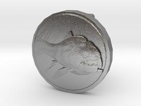 Dunkleo Cufflink in Natural Silver