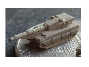 3mm CV90120 Light Tanks (16 Pcs) in White Acrylic