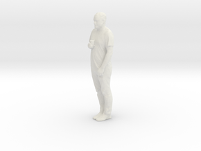Adam 3D in White Natural Versatile Plastic