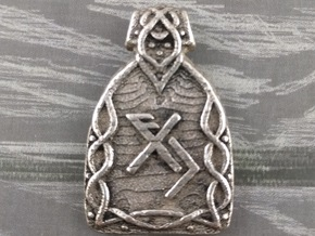 Luck Pendant in Stainless Steel