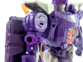 TR Galvatron Cannon Adaptor in Purple Processed Versatile Plastic