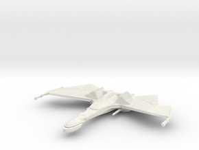 1/2500 QuD (Insurrection) Frigate - Attack mode 2 in White Natural Versatile Plastic