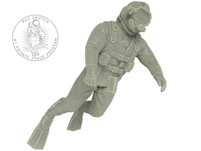 Commercial Diver in White Strong & Flexible: 1:12