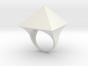 Anello Mam in White Natural Versatile Plastic
