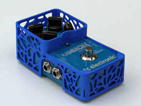 TC Electronic compact 4 knobs pedal cover in Blue Processed Versatile Plastic
