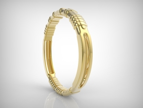 Kony Bracelet in 18k Gold Plated Brass