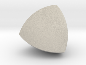 Meissner tetrahedron - Type 2 in Natural Sandstone