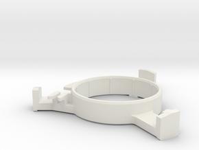 Donkey-Actuator-R in White Natural Versatile Plastic