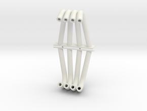 F/C Headers 1/12 in White Natural Versatile Plastic