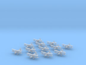 Fieseler Fi.167 1:1250 x12 (x6 with torp/bomb) in Smooth Fine Detail Plastic