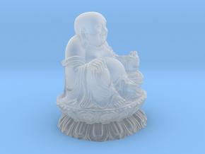 Buddha Sculpture in Smooth Fine Detail Plastic