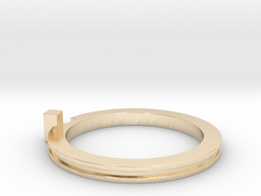 Slim Stackable Ring Size 7 in 14K Yellow Gold