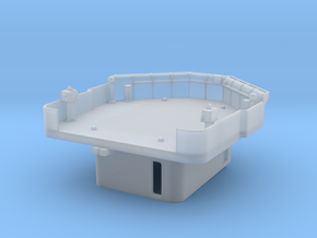 """1/72 Fletcher """"Square Bridge"""" Deck and CIC in Frosted Ultra Detail"""