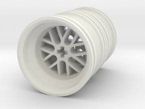 Wheel Design III Double in White Strong & Flexible