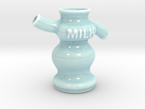 Milk in Gloss Celadon Green Porcelain