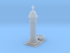 1:24th scale Classic European drinking fountain in Frosted Ultra Detail