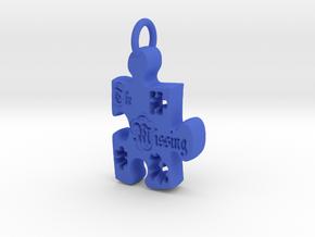 The Missing Piece in Blue Processed Versatile Plastic