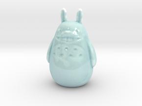 Porcelain Totoro in Gloss Celadon Green Porcelain
