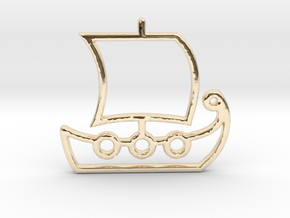 Ship No.1 in 14K Yellow Gold