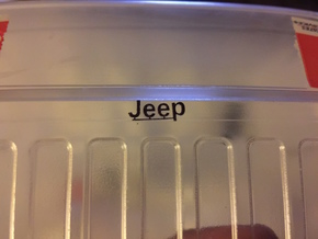 Jeep Logo (New Bright RC Body) in Frosted Ultra Detail