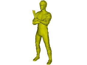 "1/15 scale Bruce Lee ""Game of Death"" figure in Smooth Fine Detail Plastic"