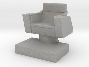 Game piece captain's chair in Aluminum