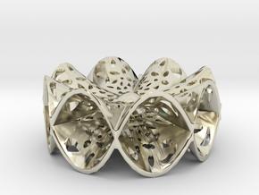 Hyperpara Pendant in 14k White Gold