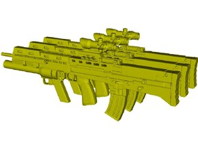 1/16 scale BAE Systems L-85A2 rifles x 3 in Smooth Fine Detail Plastic