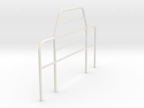 Rubber Duck-Bullbar-2-no-bumper in White Strong & Flexible
