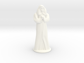 Anubus 35 mm scale in White Processed Versatile Plastic
