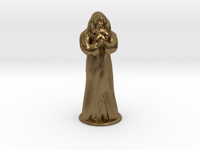 Anubus 35 mm scale in Natural Bronze