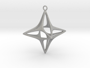 Christmas Star No.1 in Aluminum