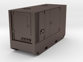 Generator/générateur ATLAS COPCO QAS100 HO 1/87 in Polished Bronzed Silver Steel