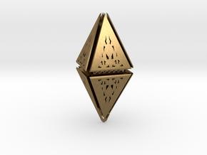 Diamond  in Natural Bronze