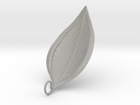 Leaf Necklace 1  in Aluminum