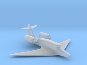 Jet plane in Frosted Ultra Detail