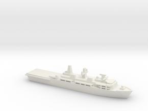 Albion-class LPD, 1/2400 in White Natural Versatile Plastic